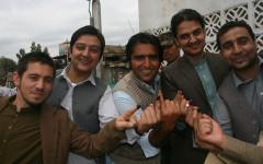 Unga väljare i Jalalabad