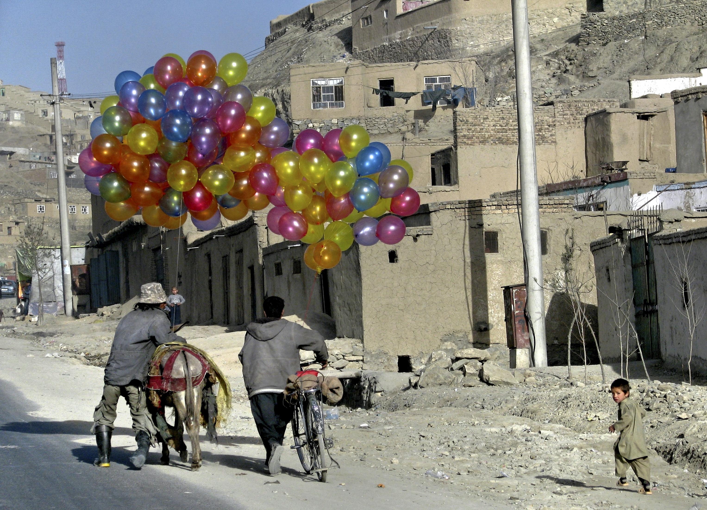 Ballongerna, Kabul. Foto Bo Lambert