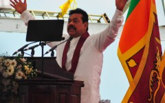 SRI LANKA: A Powerful President Promises Prosperity  HAMBANTOTA, Sri Lanka, Nov 22, 2010 (IPS) - Percy Mahinda Rajapaksa is the quintessential Sri Lankan politician - someone who senses the subtle shifts in the political landscape quickly and can turn a narrowest of victories into the strongest of legacies.  http://ipsnews.net/news.asp?idnews=53627