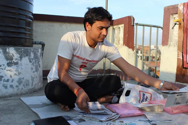 Arjun Kumar Sah i Nepal