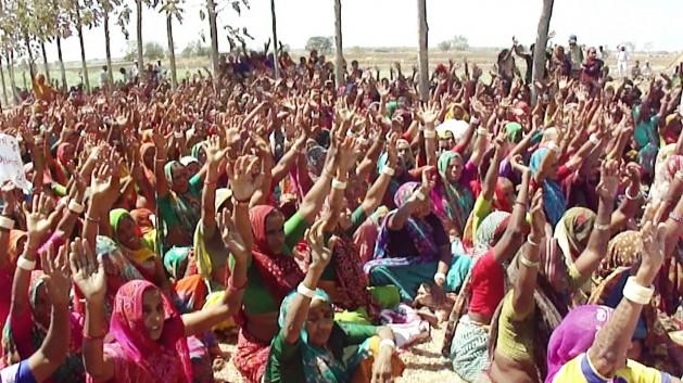 Kvinnor i Indien i manifestation