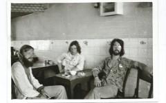 Tomas Löfström (till vänster) på resa på The Hippie trail i Iran. foto: @ Vagabond
