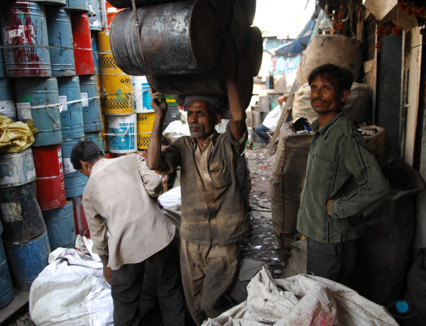 Dharavi en slumvärd Foto: © Reality Tours and Travels