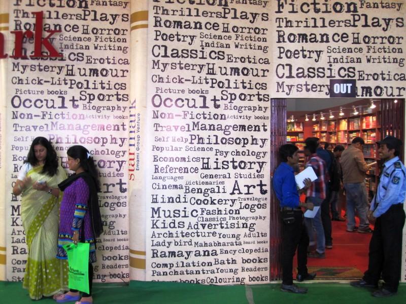 På Kolkatas Bokmässa 2016. Foto Zac O'Yeah