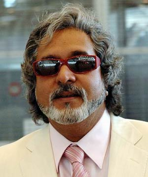 Vijay Mallya föddes 1955 och ärvde United Breweries (UB) från sin far Vittal Mallya. Foto Wikipedia