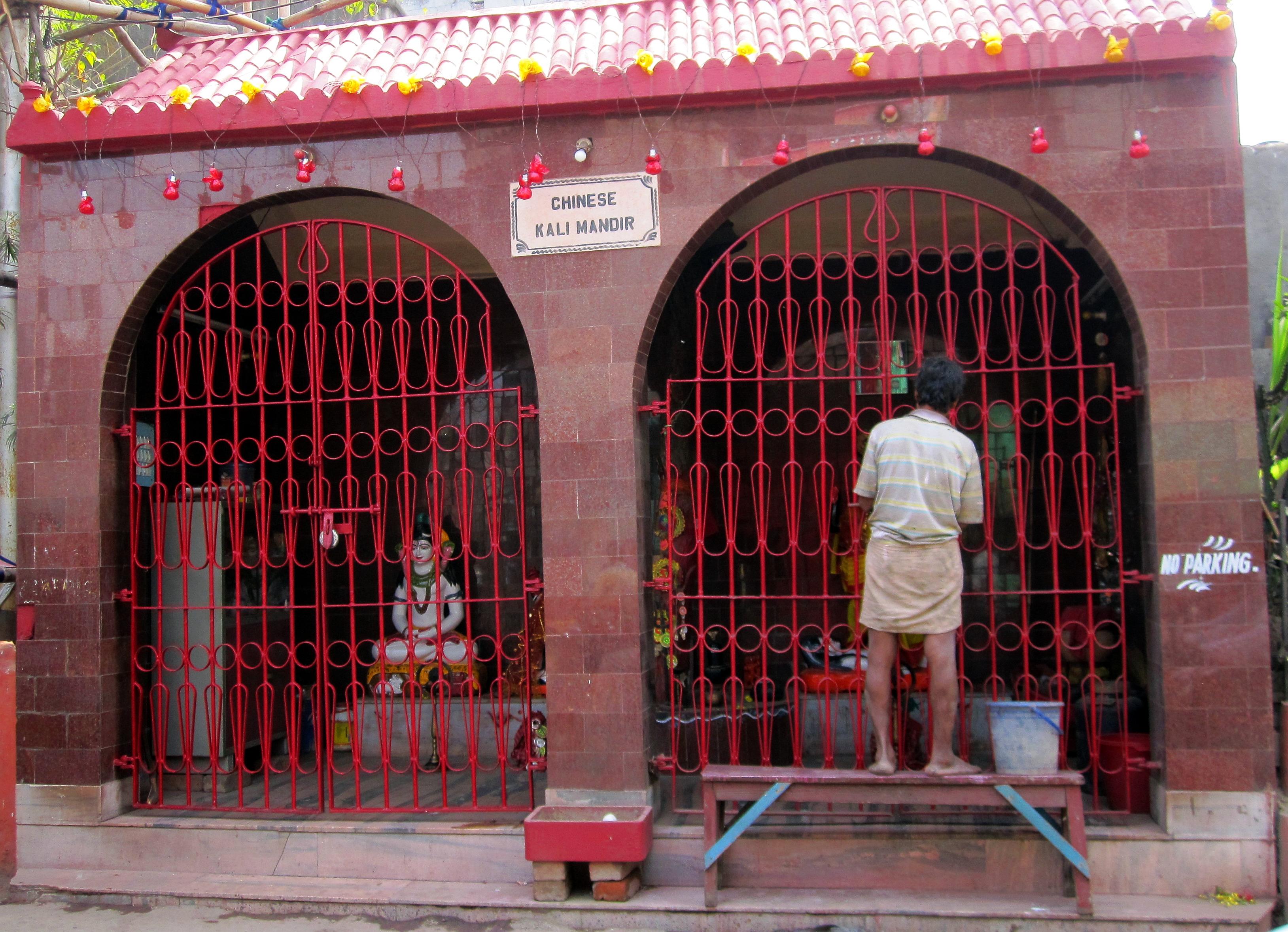 Kinesiskt Kali tempel. ©Zac O'Yeah