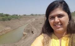 """""""Okänsligt"""", tyckte många om politikern från ett besök i den torkdrabbade Latur-regionen."""