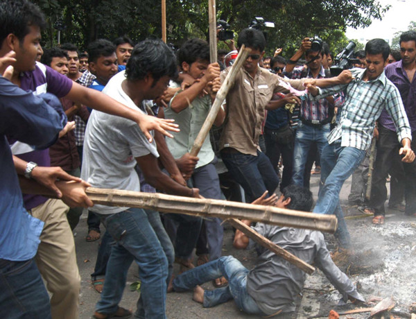 "Bangladesh är nummer 19 på listan ""most deadly country in the world for journalists"". ©Khan Md Nazrul Islam/IPS"