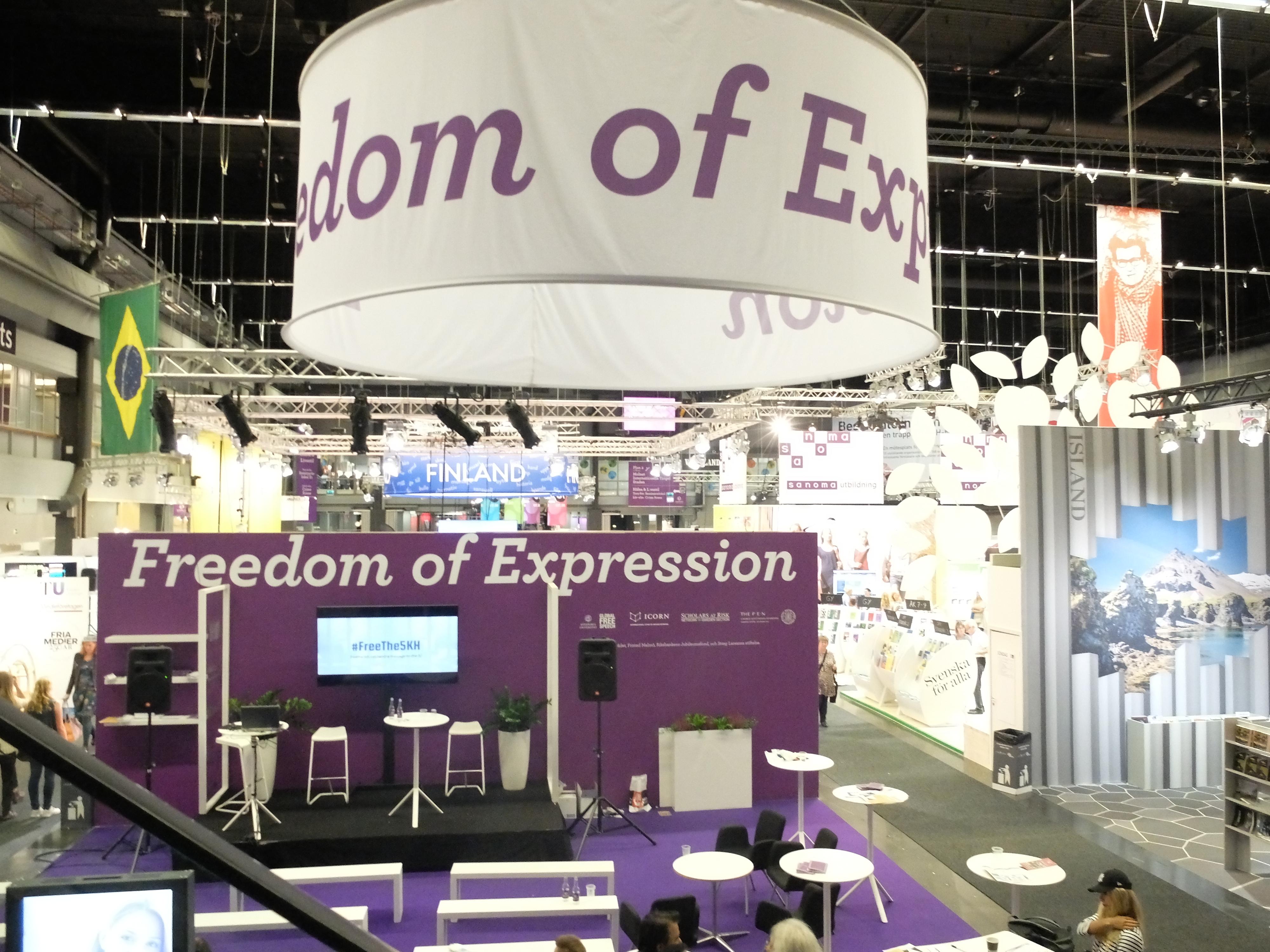 Bokmässan i Göteborg 2016: Temat är Freedom of Expression. Foto Johan Mikaelsson.