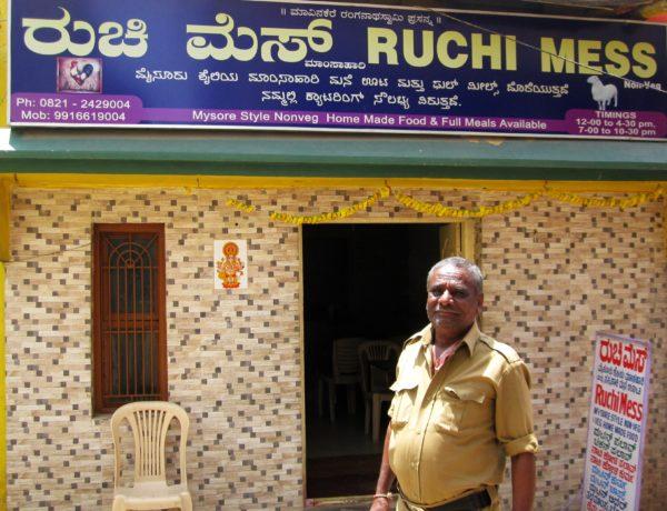 Ruchi Mess i Mysore FOTO ZAC OYEAH
