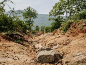 Torkan är ett faktum i delstaten Tamil Nadu och människor har fått ställa om sina levnadsvanor. Foto: Rebecka Strand.