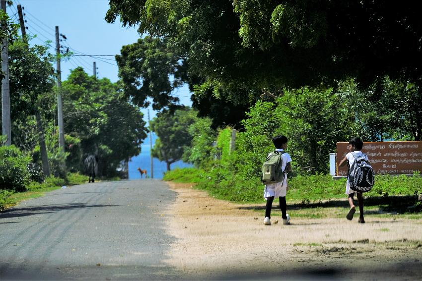 Vilken framtid Sri Lankas barn går till mötes hänger på många sätt på vad dagens makthavare gör. Foto: Johan Mikaelsson