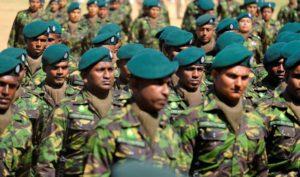 Special Task Force är bara en del av Sri Lankas väpnade styrkor som under åren anklagats för övergrepp. De ses av en del öbor som krigshjältar som lyckades bekämpa terrorlistade LTTE och av andra som krigsbrottslingar. Så länge ingen pekas ut som skyldig kan ingen heller känna sig helt oskyldig. Foto: Johan Mikaelsson