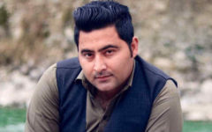 Den 13 april i år blev den 26 år gamle Mashal Khan, journaliststudent vid Abdul Wali Khan-universitetet, brutalt misshandlad anklagad för hädelse. Foto Outlook Pakistan