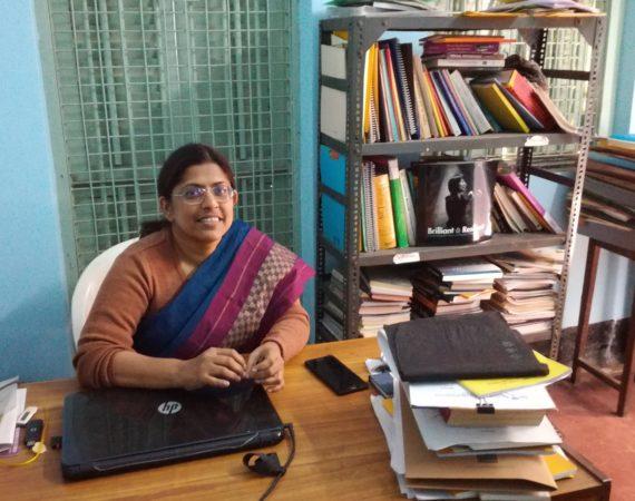 Shampa Sengupta grundare av Shruti Disability Rights Center i Kolkata. Foto Henrik Schedin