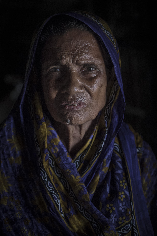 Fozila Khatun - 72 år, foto Troy Enekvist.