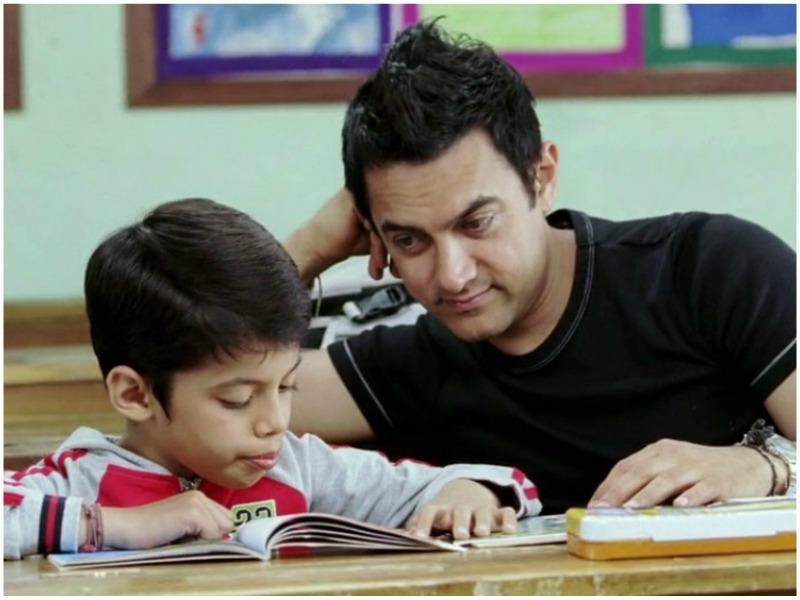 Prisbelönta filmen Tere Zameen Par behandlar ämnet utmaningar för annorlunda barn i det indiska skolsystemet. Foto Aamir Khan productions