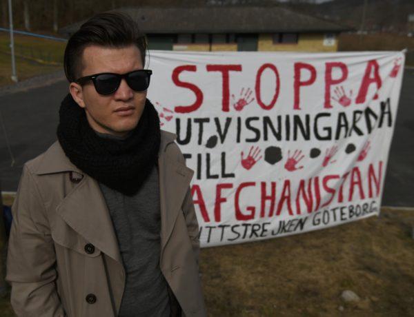Arif drömmer om att utbilda sig och kunna arbeta inom FN. Trots sin unga ålder har han redan upplevt mycket. Foto: Johan Mikaelsson
