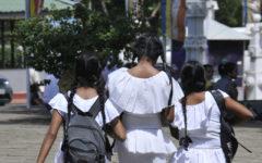 Skolflickor på Sri Lanka (flickorna på bilden har inget med texten att göra).Foto: POTIER Jean Luis Flickr