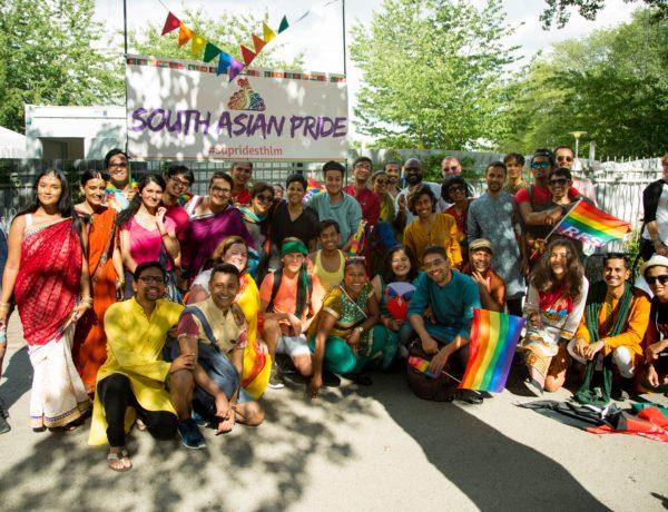 Att Euro-Pride i Stockholm första gången fick ett Pride tåg med South Asian Pride Parade är stort. Foto:Parul Sharma
