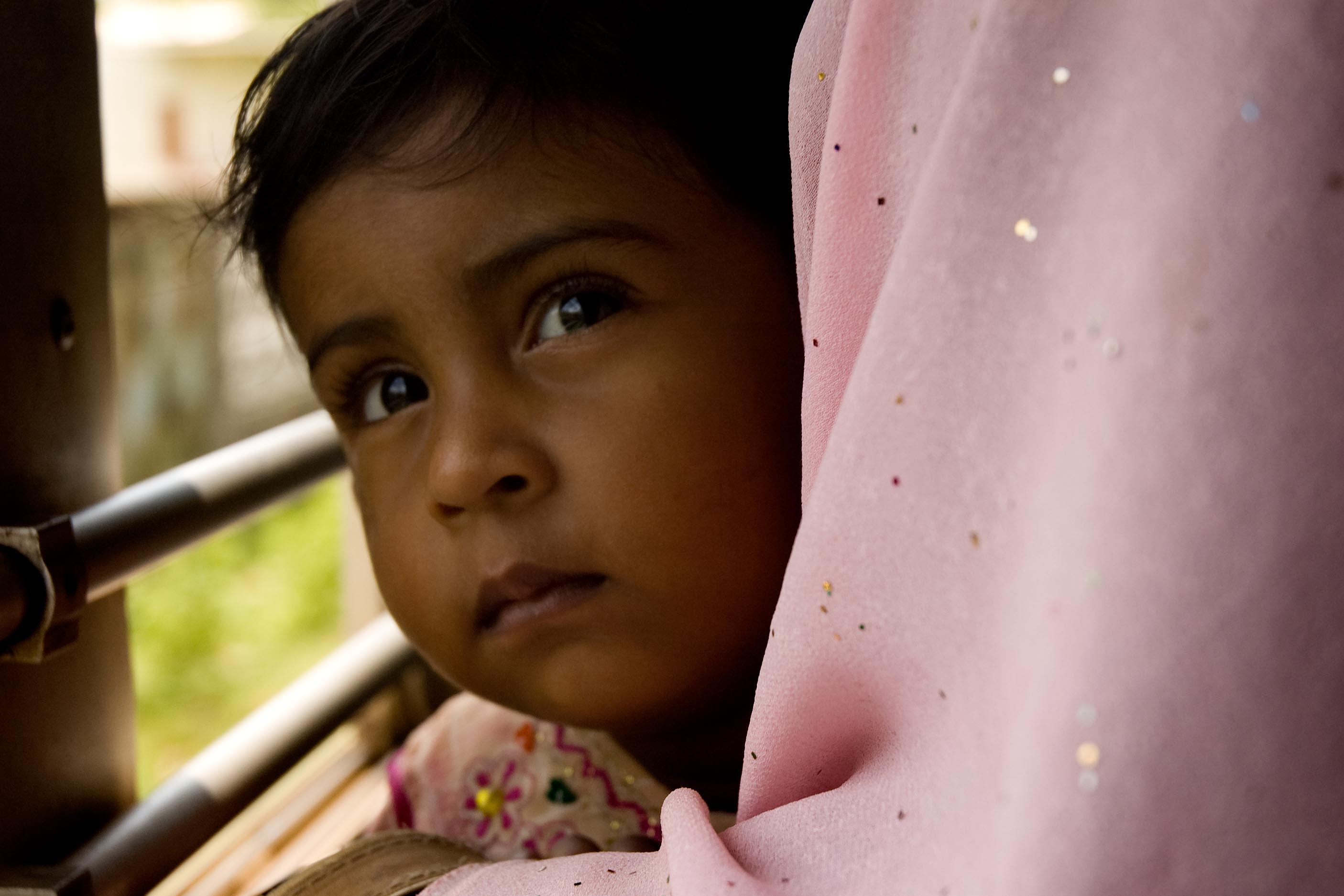 Behovet av att adoptera lokalt minskade inte under åren 1970-1995 när den transnationella adoptionsaktiviteten var som mest intensiv menar Daniel Cidrelius. Barnet på bilden är inte barnet i texten. Foto Pete Sadler Flickr