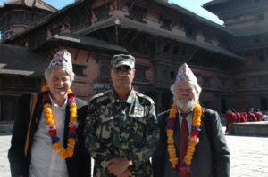 Staffan Lindbergoch Lars Eklund i Katmandu.