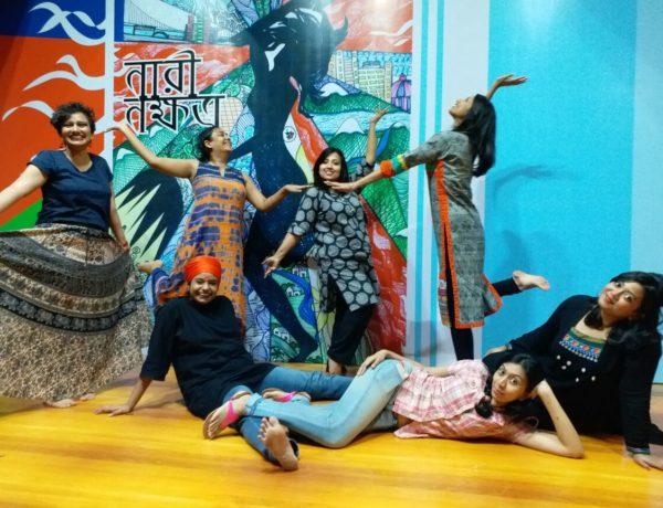Bonhishikha vill tänja gränserna och genom konst och kultur främja solidaritet och jämställdhet.