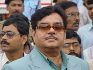 Actor and Member of Parliament Shatrughan Sinha. Photo Wikipedia