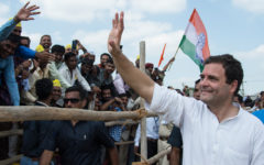 Rahul Gandhi on the campaign trail 2019. Photo Rahul Gandhi official website.