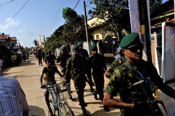 Säkerheten har åter höjts i landet efter terrordåden den 21 april 2019. Bilden tagen i Valaichennai i östra Sri Lanka 2017 Foto: Johan Mikaelsson
