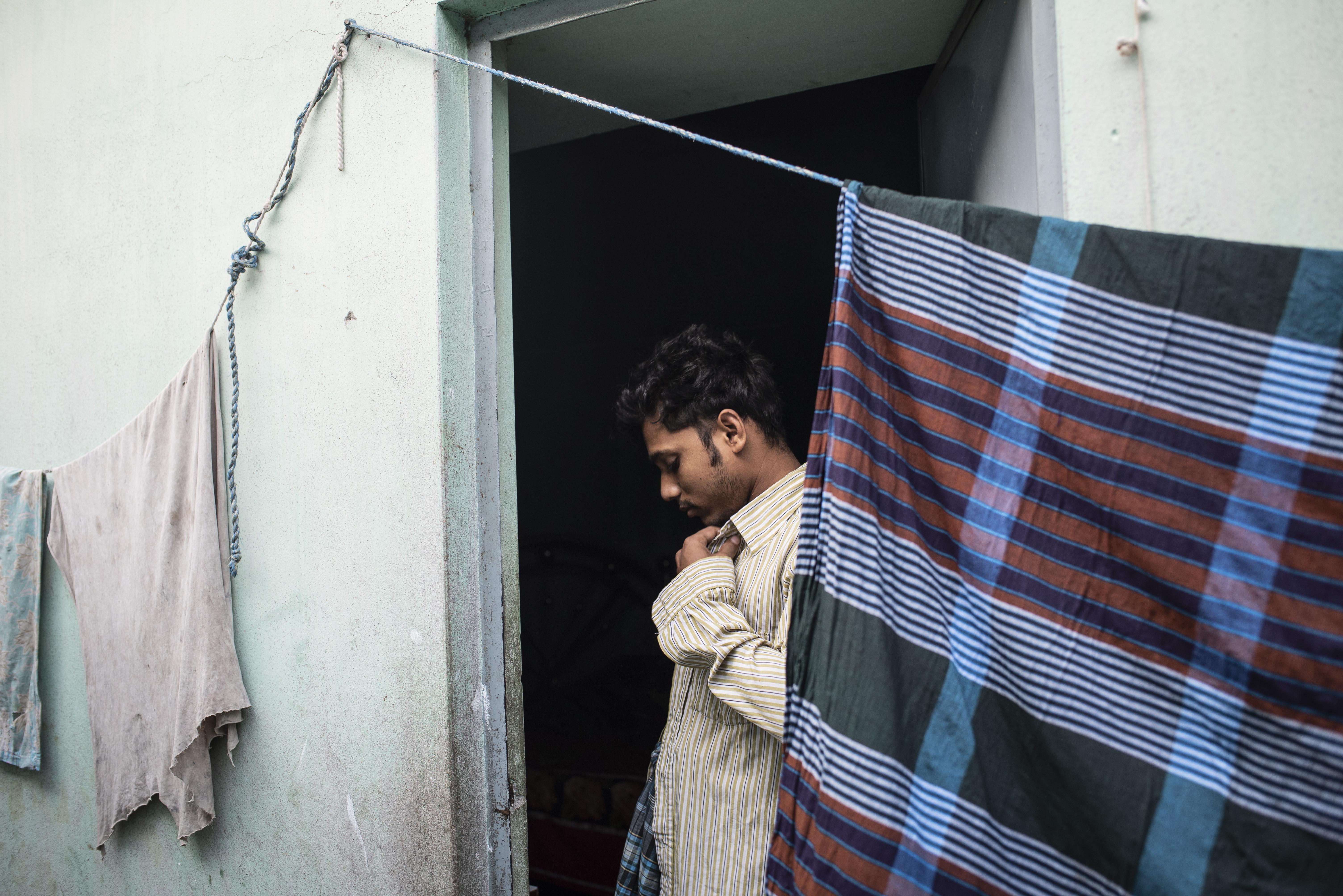 Rubel i Dhaka, Bangladesh.