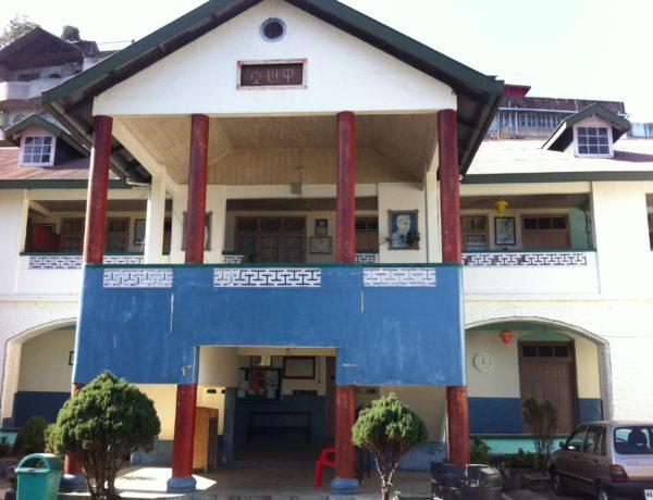 Den kinesiska skolan i Kalimpong.