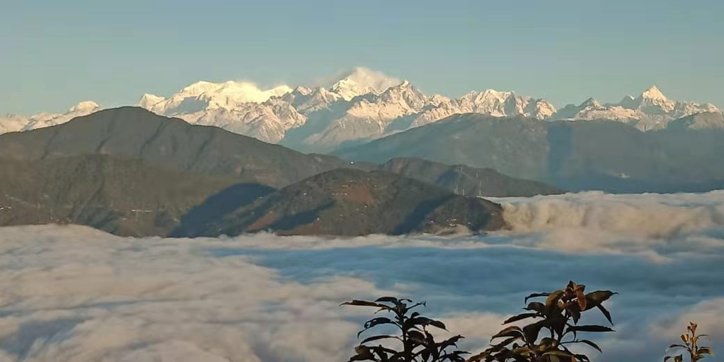View of Kanchenjunga from Kalimpong -- Anmole Prasad