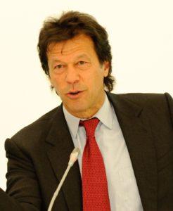 Pakistans premiärminister Imran Khan. Foto Wikipedia