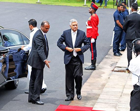 Ranil Wickremesinghe, ledare för UNP i Sri Lanka