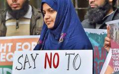 Indienprotest februari 2020