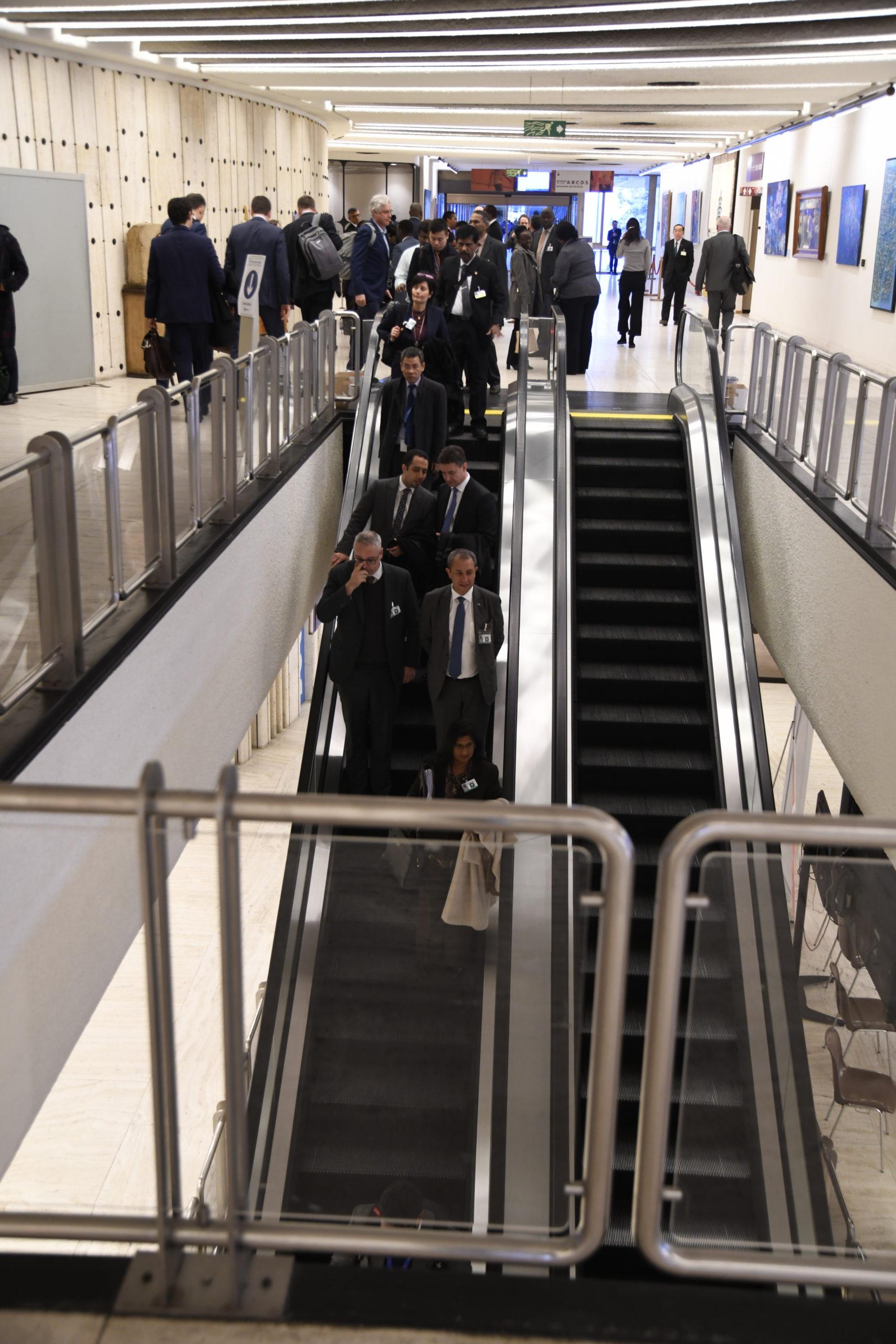 Stairway to UN