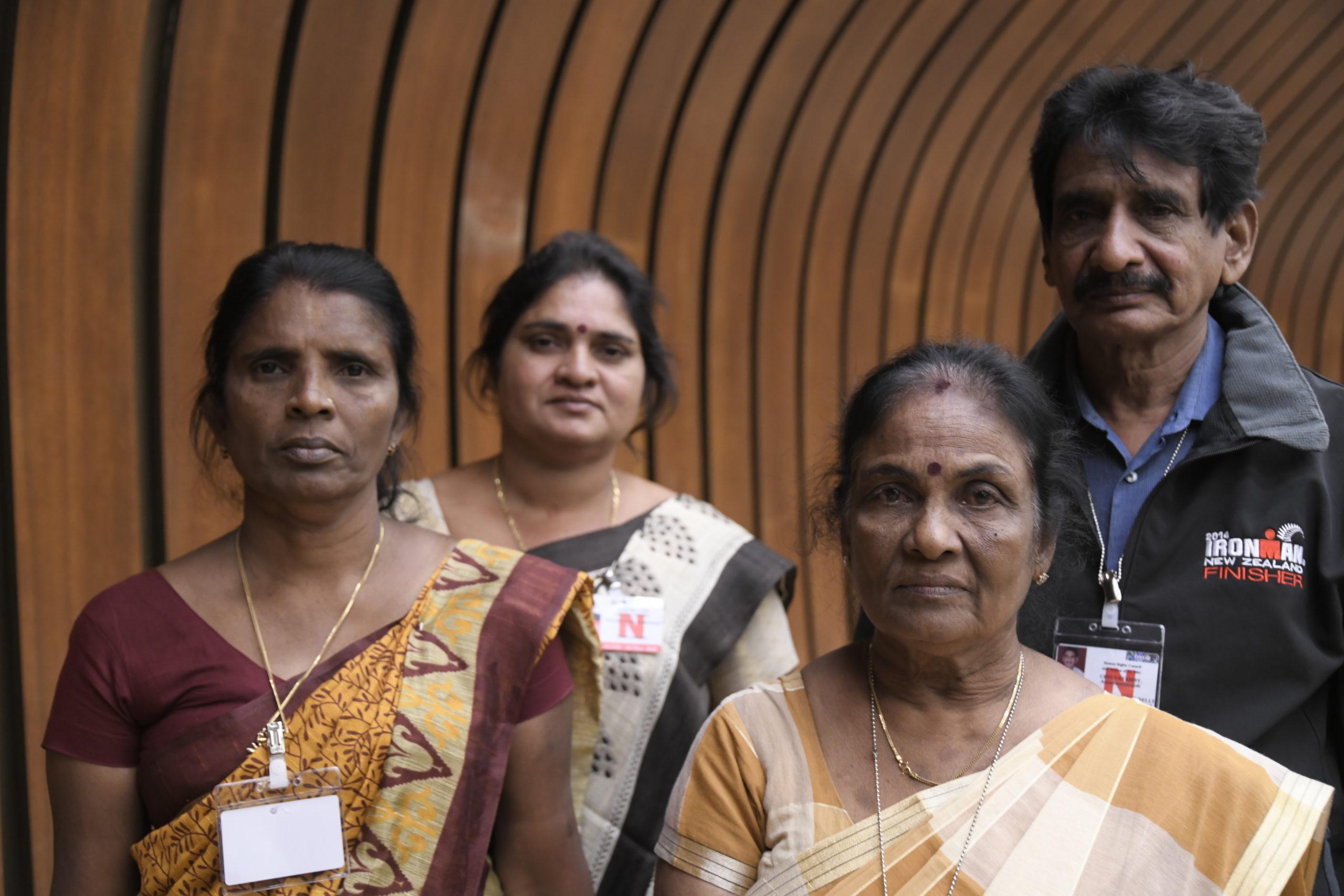 Tamilska aktivister