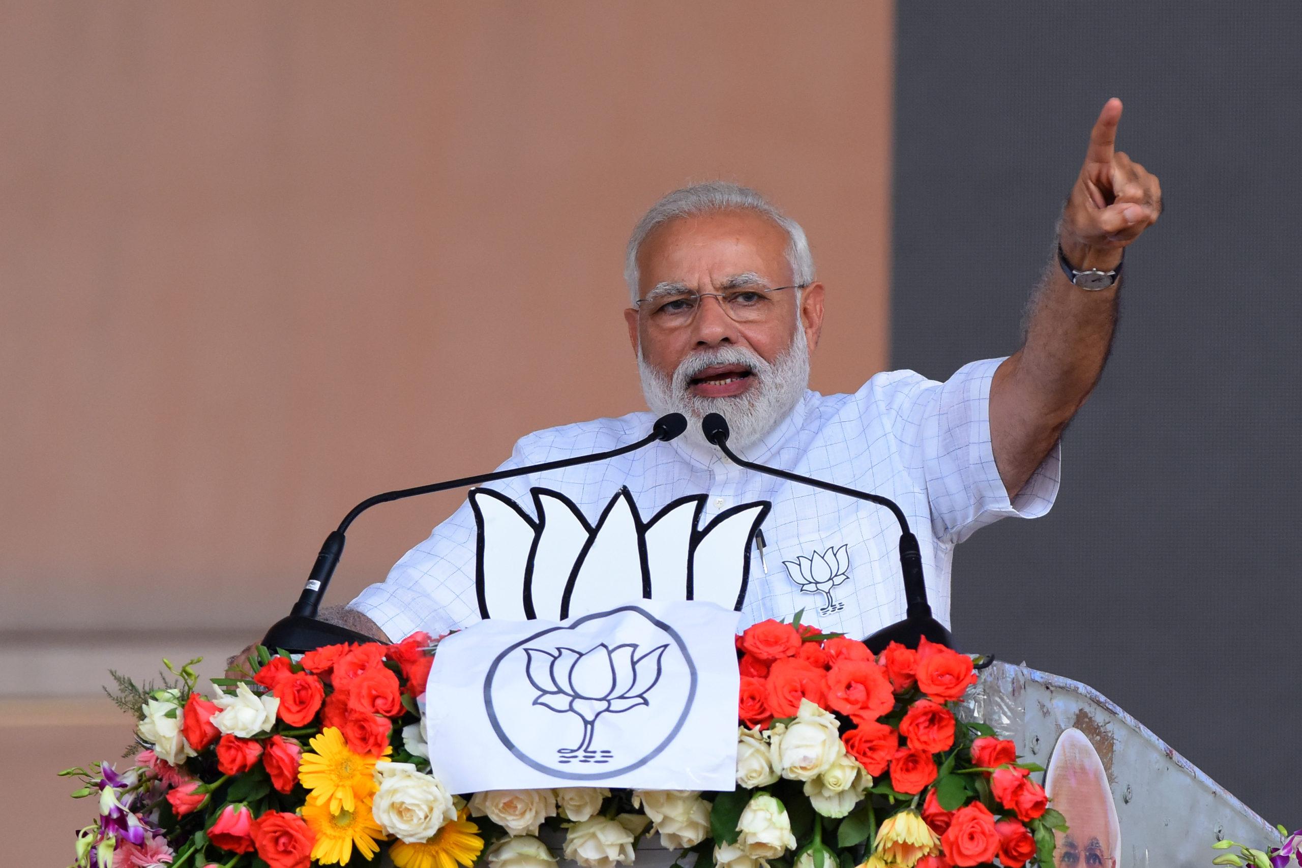 Indiens premiärminister Narendra Modi är hindunationalismens frontfigur.
