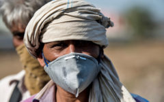 Migrantarbetare i Indien under pandemin